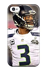 Awesome Design Seattleeahawks Hard Case Cover For Iphone 4/4s