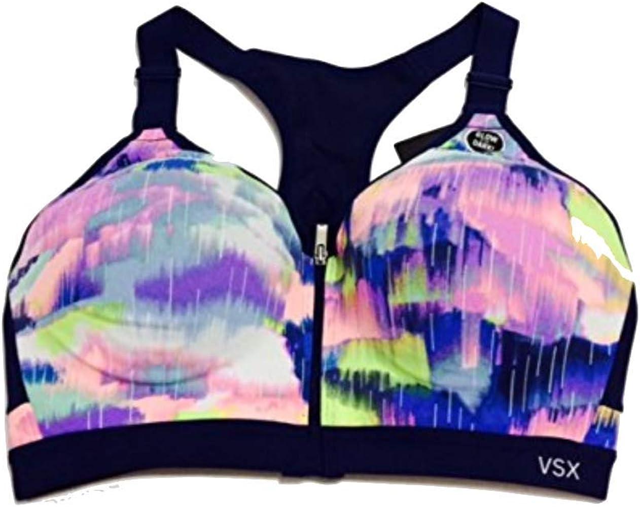 Victoria...Secret Sport Bra Incredible Front Close 34DD Multicolored