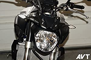 51CyRHsWzPL._SX300_ amazon com avt yamaha fz 07, fz 09, fz8, fz1, r3 front led turn  at mifinder.co