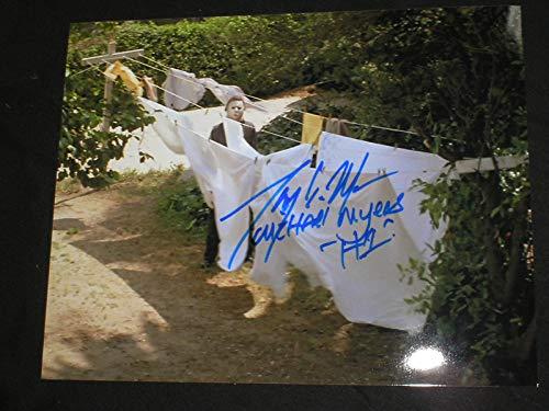 TONY MORAN Signed Halloween 8x10 Photo Autograph Michael Myers K