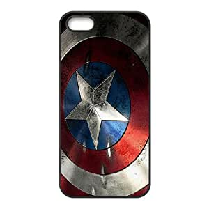 Timely Comics-Vibranium Black Phone Case for iPhone 5S