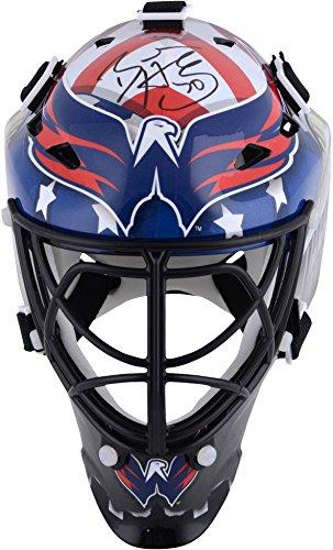 Braden Holtby Washington Capitals Autographed Mini Goalie Mask - Fanatics Authentic Certified - Autographed NHL Helmets and Masks