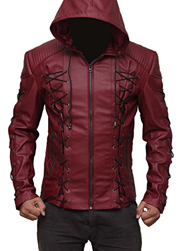 Red Jacket Costume Ideas (Arrow Red outerwear Jacket Gift Ideas M)