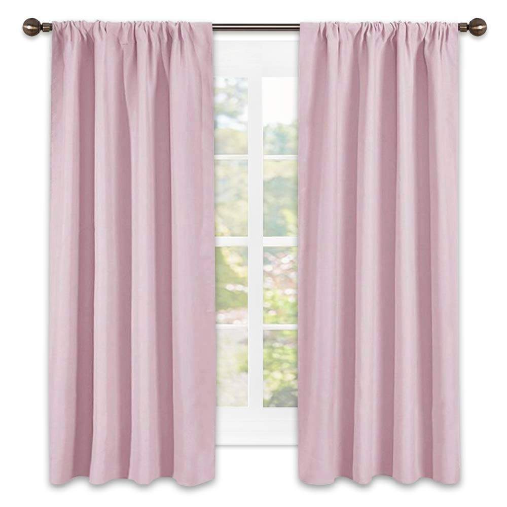 NICETOWN Room Darkening Curtains for Girls Room