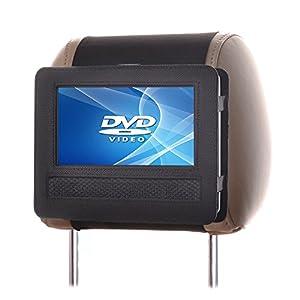 tfy auto kopfst tzenhalterung f r 7 zoll dvd player mit. Black Bedroom Furniture Sets. Home Design Ideas