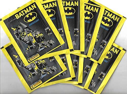Figurinhas Batman Anniversary 80 anos - lote com 10 envelopes