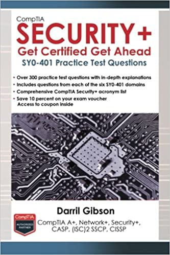 Book CompTIA Security+ Get Certified Get Ahead: SY0-401 Practice Test Questions