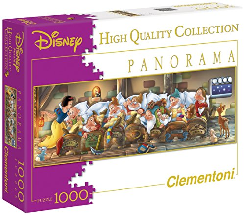 Clementoni Disney Snow White Panorama Puzzle (1000 Piece)