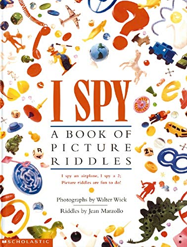 I Spy Pictures >> I Spy A Book Of Picture Riddles Jean Marzollo Walter Wick