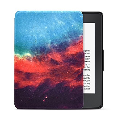 Dopup Case for Kindle Paperwhite, Slim and Light Smart Shell Cover for All-New Amazon Kindle Paperwhite, Folio Flip Style with Auto Sleep/Wake (Galaxy)