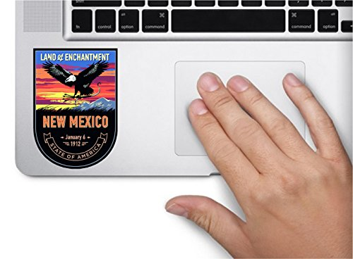 New Mexico State Animal - State animal New Mexico night 3.5x2.5 inches color sticker animal state decal die cut vinyl - Made and Shipped in USA