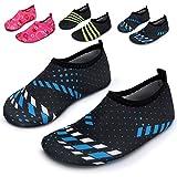 image for L-RUN Kids Swim Water Shoes Barefoot Aqua Socks Shoes for…