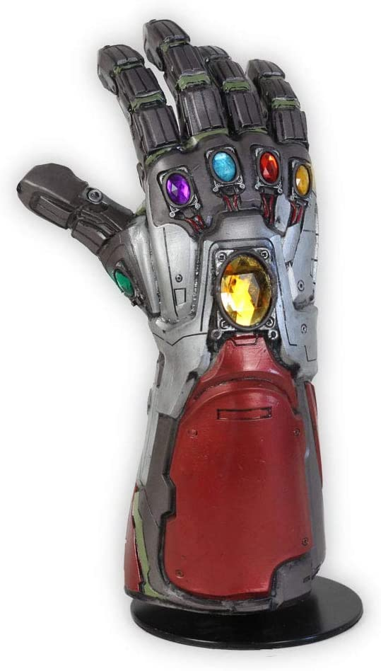 Yacn Iron Man Infinito Guantelete Guante Disfraz Cosplay Brazo Vengadores 4 Final del Juego