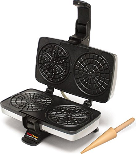 Chefs choice model 834 pizzelle pro express bake non stick for Perfect bake pro review