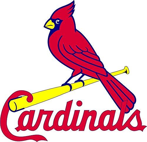 skyhighprint - St. Louis Cardinals MLB Baseball Sport Decor Vinyl Print Sticker 12'' X 12''