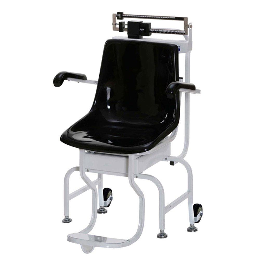 Health O Meter 445KL Mechanical Chair Scale, 440 lb. Capacity, 1/4 lb. Graduation, 15-3/4'' x 18-1/2'' x 17-1/4'' Seat