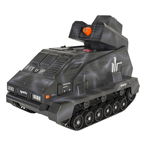 Black Ops Seek & Destroy Battle RC Tanks with 90 FPS Turret Remote Control - Gray