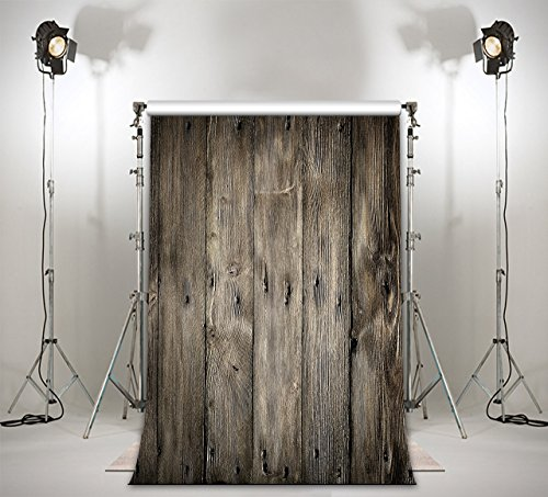LB 3X5ft Retro Wood Wall Poly Fabric Photography Backdrop Studio Prop Customized Photo Backgrounds Backdrops ZZ26