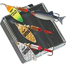 Mepps Aglia Long Plain Bass Fishing Lure Pocket Pack