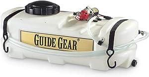 Guide Gear ATV Spot Sprayer, 10-Gallon Tank Capacity, 1 GPM, 12-Volt, Battery-Powered Garden Lawn Field Sprayers