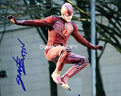 The Flash tv show Grant Gustin reprint signed autographed photo #2 The CW from Loa_Autographs