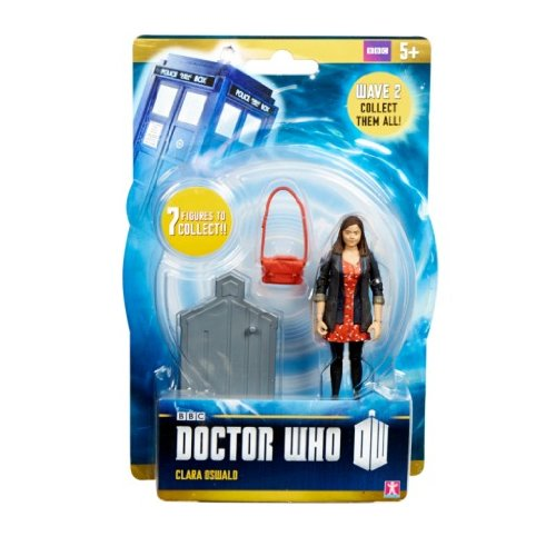 Dress Figure Red - Doctor Who 3.75 Inch Series 2 Action Figure Clara [Red Dress]