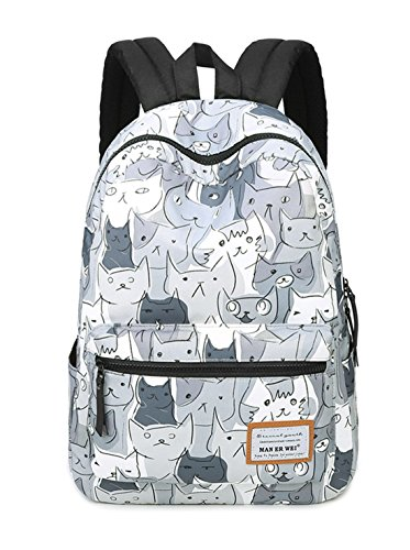 Fashion multicolor Canvas Daypack Most 2 Handy Lightweight Maibaoma Backpack Travel Packable Durable g5Uqaqwv