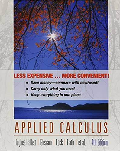 Hughes hallett sikorskii applied calculus 4th edition michigan.
