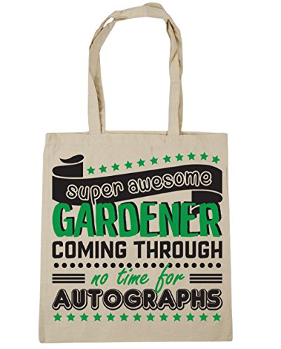 litres Through Bag x38cm Autographs Awesome For Natural Shopping Gardener 10 Beach Gym Time Tote No 42cm Super HippoWarehouse Coming 4OIcZTIq