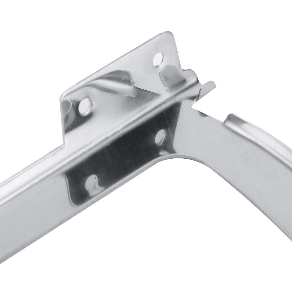 1 Layer 2Pcs Stainless Steel Shoes Drawer Cabinet Hinges Turing Rack Replacement Fittings