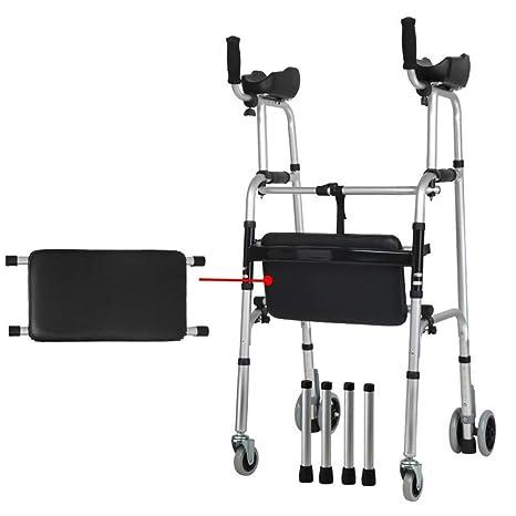 AJZ Andador estándar para Personas Mayores - Caminador de ...