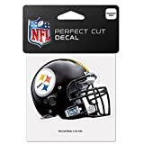 Pittsburgh Steelers Official NFL 4'' X 4'' Helmet Decal