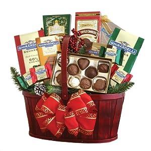 California Delicious Ghirardelli Chocolate Gift Basket