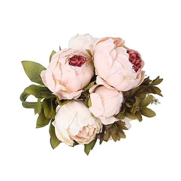 Duovlo-Artificial-Peony-Silk-Flowers-Fake-Flowers-Vintage-Wedding-Home-DecorationPack-of-1