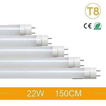 Led Leuchtstoffrohre T8 22w 150cm Naturweiss 4500k Led Tube Rohre