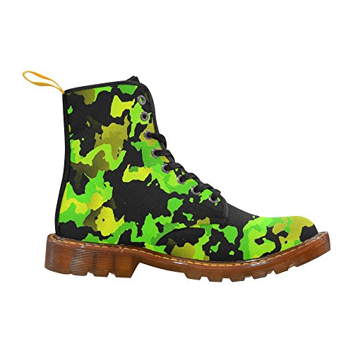 LEINTEREST modern camouflage style Martin Boots Fashion Shoes For Men l5spasT