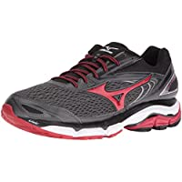 Mizuno Wave Inspire 13 Men's Running Shoes (Gunmetal Red / Silver-True Blue)