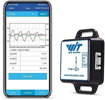 WT61C TTL Ángulo de inclinación de 2 ejes + Acelerómetro de 3 ejes ...