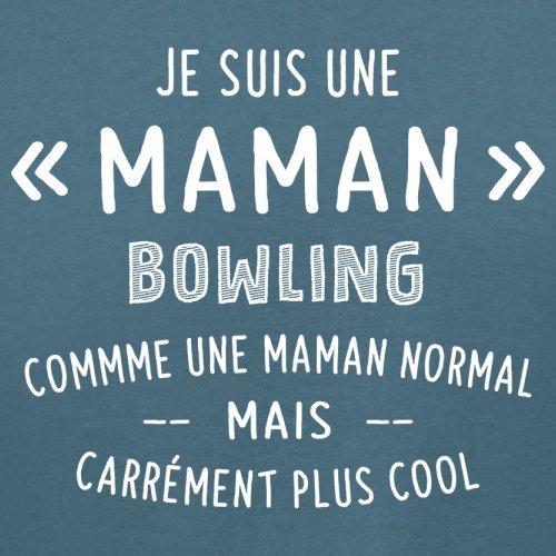 une maman normal bowling - Femme T-Shirt - Bleu - XXL