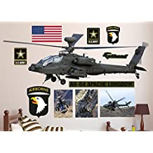 Fathead AH-64 Apache Longbow Helicopter Real Decals