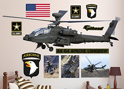 AH-64 Apache Longbow Helicopter Real Decals