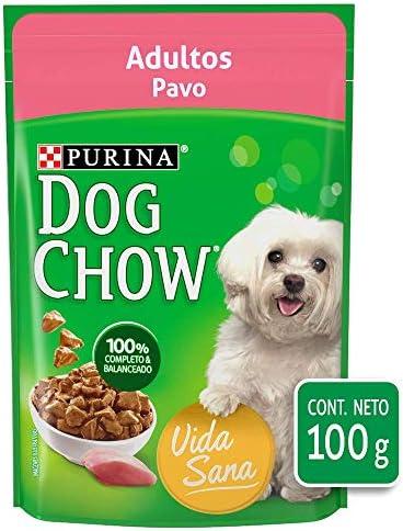 DOG CHOW alimento húmedo adultos pavo paquete con 20 Pzas 3