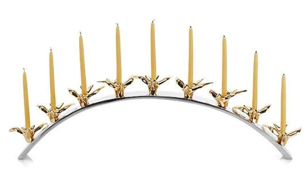 Lunares - Peace Doves Menorah