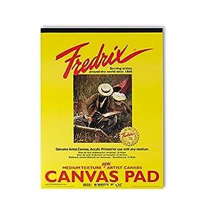 Fredrix Canvas Pads 9 in. x 12 in.