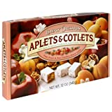 Liberty Orchards Aplets & Cotlets, 12-Ounce Packages (Pack of 4)