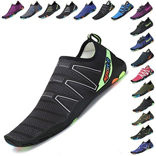 Swim Socks Voovix Aqua Shoes Yoga Barefoot Beach Womens Quick Dry Mens Black01 Water xqqHRwAv8