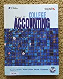 College Accounting (Ch 1-12)(W/CD) 5th 5th Edition