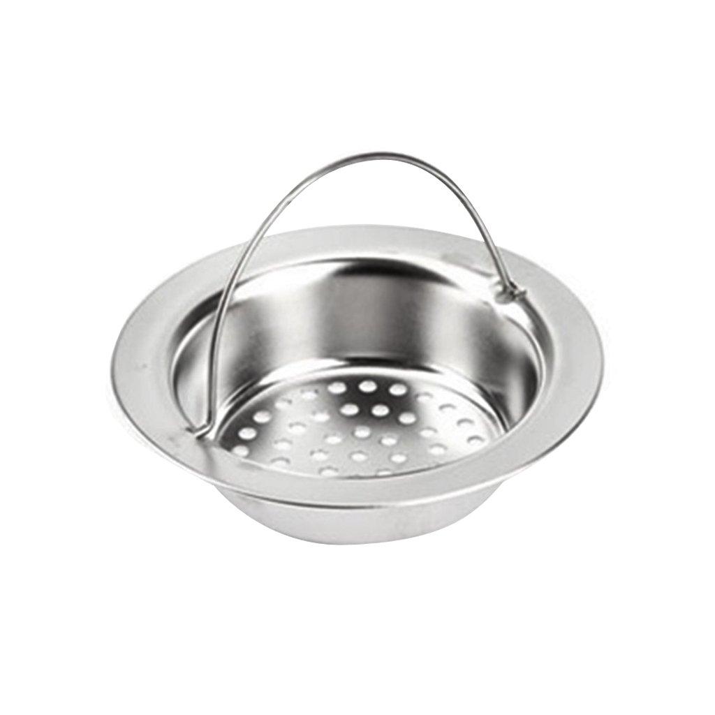 Kitchen Basin Stainless Steel Sink Drainer Strainer