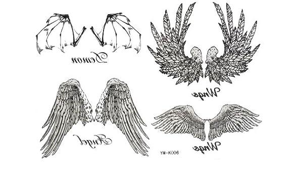 2012 nuevo Halloween Navidad Diablo ángel bate las alas de águila ...