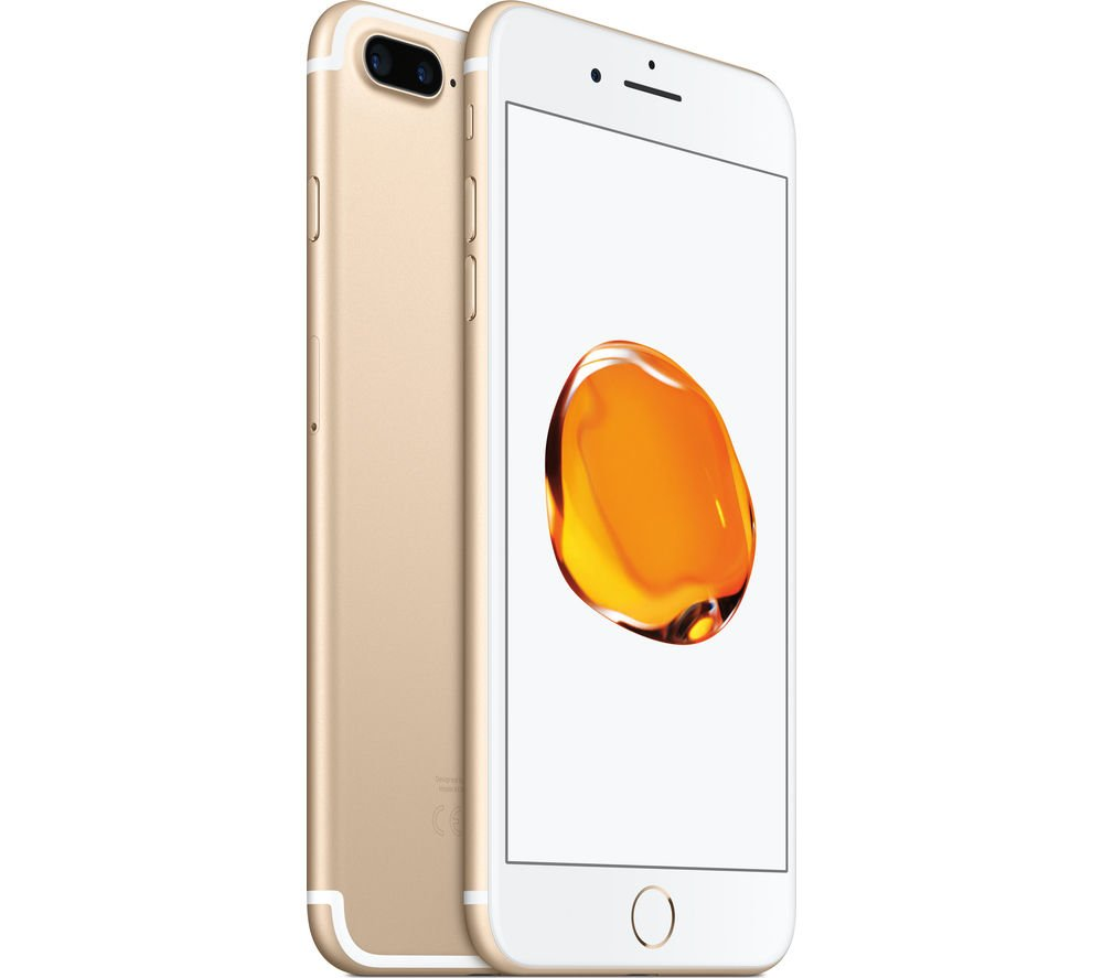Apple iPhone 7, GSM Unlocked, 32GB - Gold (Renewed) by Apple